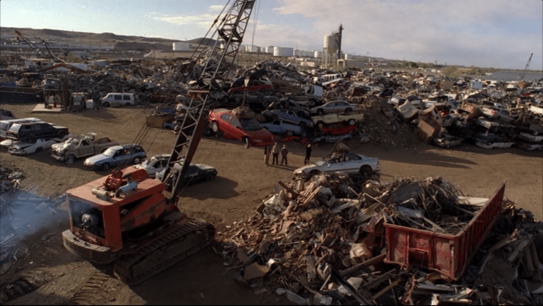 Houston, Texas space for junk yards